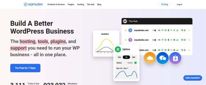 Wpmudev Web Hosting Review: Build A Better WordPress Business